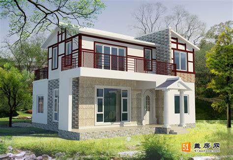 house design ideas mauritius 农村独特二层别墅房屋外观效果图 房屋设计效果图 效果图 51盖房网