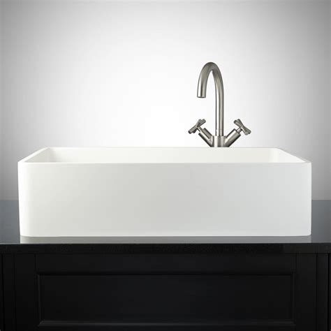 what is matte sink matte white sink signature hardware