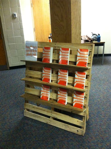 diy rustic pallet bookshelf pallets designs