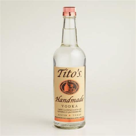 Tito Handmade Vodka - tito s handmade vodka world market