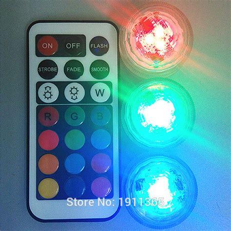 mini led tea lights wedding decoration remote control waterproof submersible