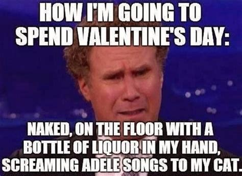 Funny Memes For Valentines Day - happy valentines day to me singles on valentine day