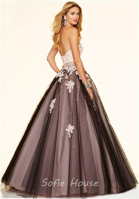 Dress Lace Pink Black black and pink lace prom dress www pixshark images