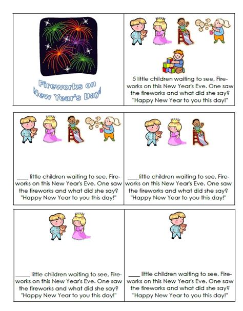 new year story printable new year story activities 28 images new year