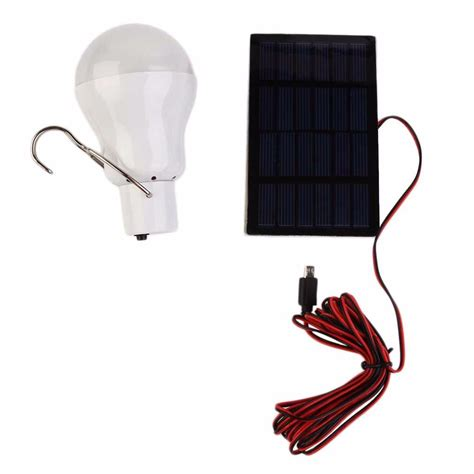 15w 130lm Portable Solar Power Led Bulb Solar Powered Solar Power Led Light