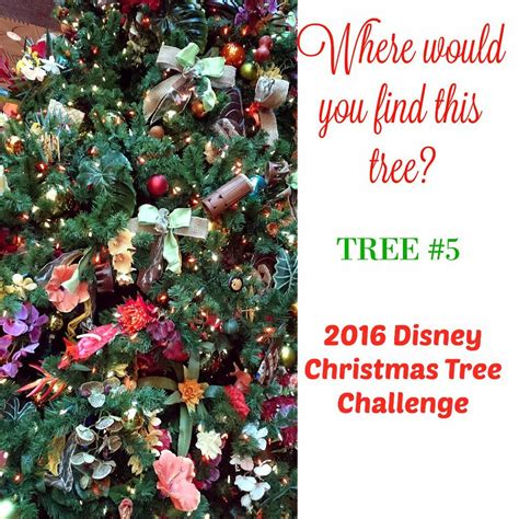 play our 2016 disney christmas tree challenge the