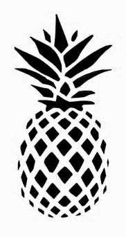 drawing stencils templates 25 best ideas about pineapple drawing on