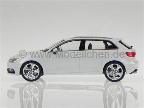 Wei Er Audi A3 by Audi A3 Sportback 2012 Weiss Modellauto Schuco 1 43