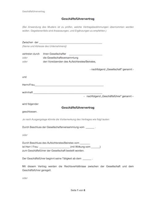 Bezahltes Praktikum Vertrag Vorlage Arbeitsvertrag Muster Arbeitsvertr 228 Ge Mit Rechtshinweisen