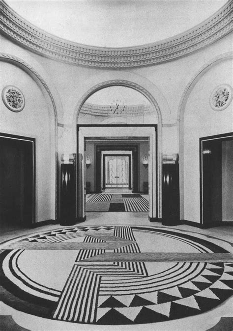 marion dorn art deco floor principles of interior stuff and nonsense marion dorn lobby of claridges hotel
