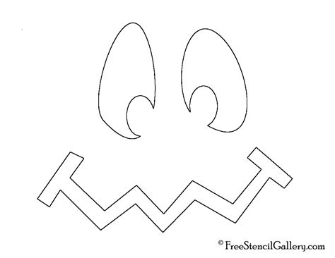 cute jack o lantern stencils printable pumpkin faces pumpkin patterns and cut outs on pinterest