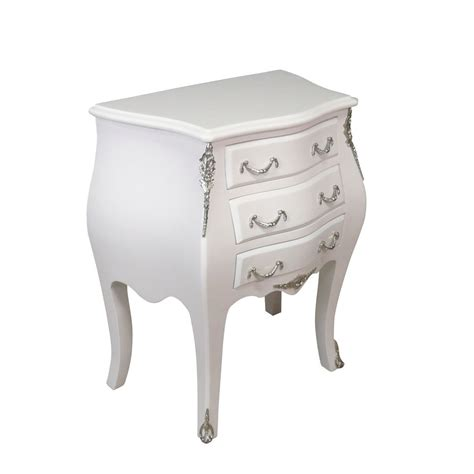 commodes blanches petie commode baroque blanche louis xv meuble baroque