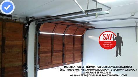 portail et porte de garage automatique installation est r 233 paration de rideaux m 233 talliques
