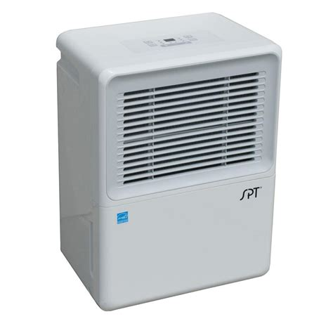 built in dehumidifier for basement spt 70 pint dehumidifier with built in and energy sd 72pe the home depot