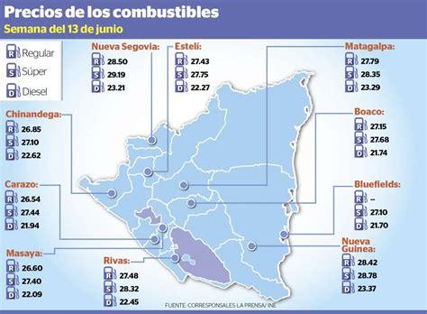 precio de prepagas 2016 precio de los combustibles en nicaragua la prensa