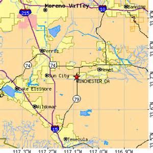 winchester california ca population data races