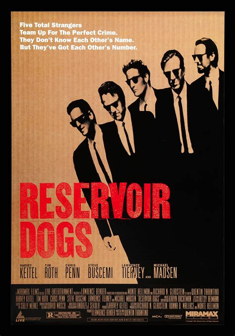 reservoir dogs poster reservoir dogs cinemasterpieces 1sh original poster 1992 tarantino ebay