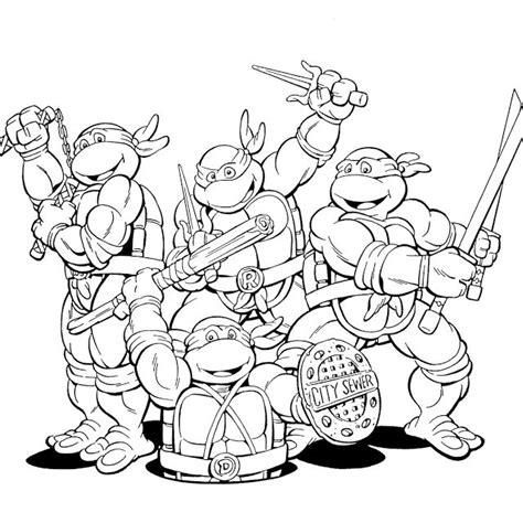 ninja turtles coloring pages  kids enjoy coloring