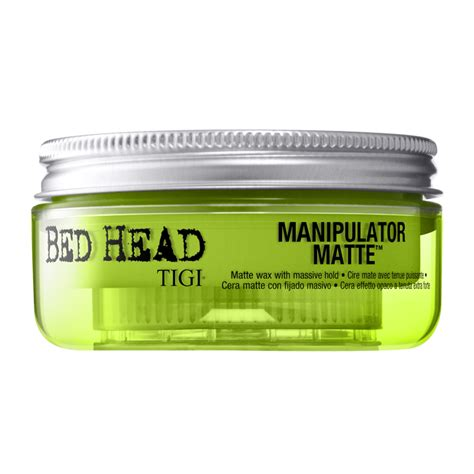 bed head wax tigi bed head manipulator matte wax with massive hold 57g