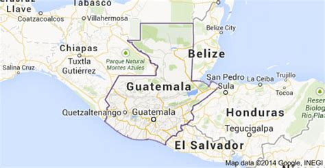 map of mexico and surrounding countries agros guatemala land