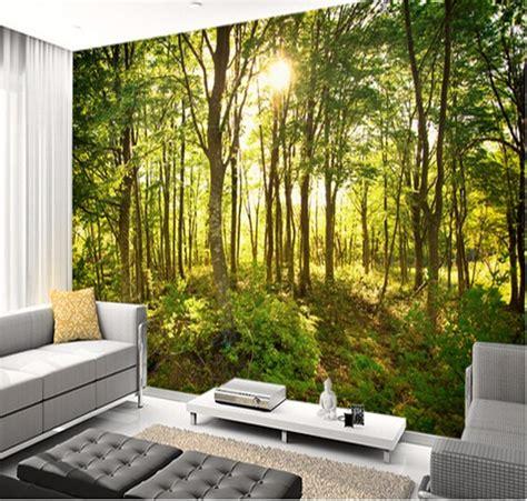 Living Room Wallpaper Buy Aliexpress Buy Custom Wallpaper Enchanted