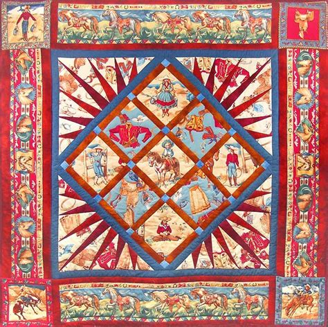 free printable cowboy quilt patterns 17 best images about western and cowboy quilts on