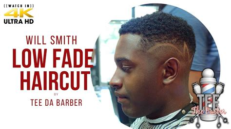 a drop shag haircut tutorial will smith fade with design youtube