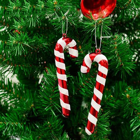 christmas tree candy cane ornaments xmas party hanging
