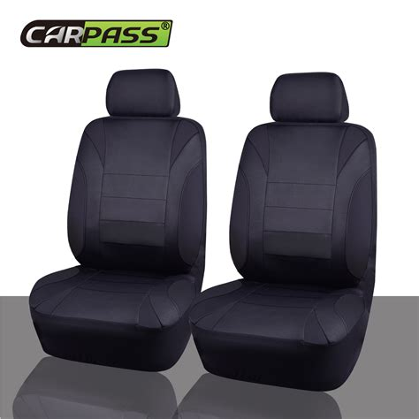 fit seat covers universal car seat covers black orange car truck suv seat
