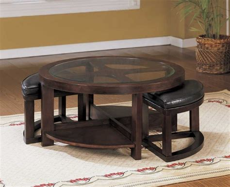 Ashley Furniture Coffee Table Design Dans Design Magz Ideas   fascinating making coffee table with stools underneath u