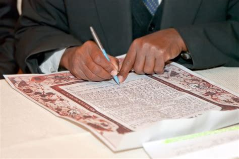 jewish marriage contract ketubah marriage