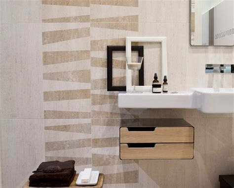 Modern Bathroom Wall Tile Designs Pictures Wall Tile Modern Bathroom Other Metro By Horizon