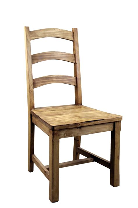 Dining Chair Wood Vivere Pine Dining Chair Mexican Rustic Furniture And Home Decor Accessories