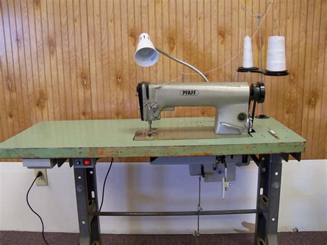 Table For Sewing Machine by Pfaff 463 Industrial Sewing Machine With Table Jpg 3648