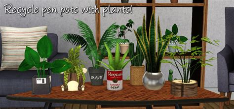 empire sims 3 3 small potted plants by lisen801 around the sims 3 custom content downloads objects