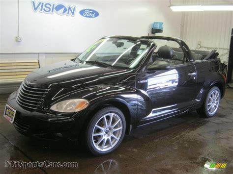 2005 Chrysler Pt Cruiser Gt Convertible by 2005 Chrysler Pt Cruiser Gt Convertible In Black 286087
