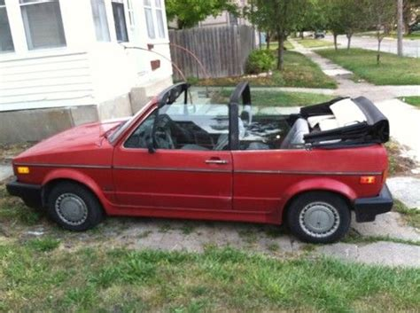 buy   volkswagen cabriolet base convertible  door   fort dodge iowa united