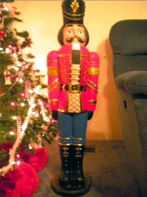large christmas soldiers soldier nutcracker figure large deluxe decoration 38 quot ebay