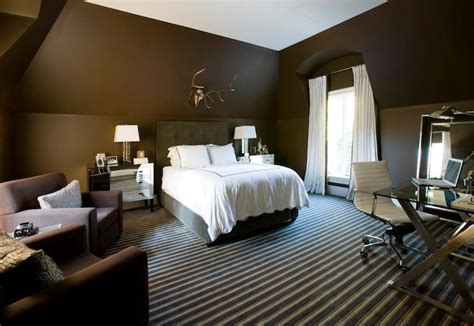 chocolate walls bedroom light brown walls with dark brown accent wall paint home