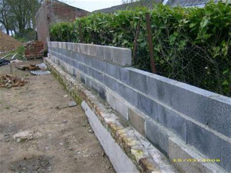 Construire Un Mur De Cloture 4067 by Mur De Cl 244 Ture Construction De Notre Maison