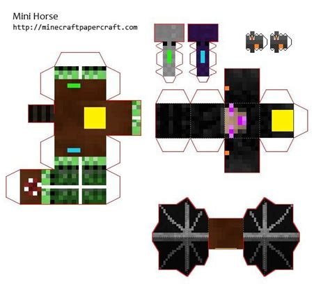 Minecraft Spider Papercraft - the world s catalog of ideas