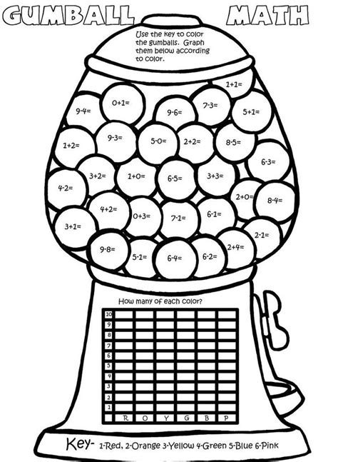 gis gumball machine coloring page coloring pages