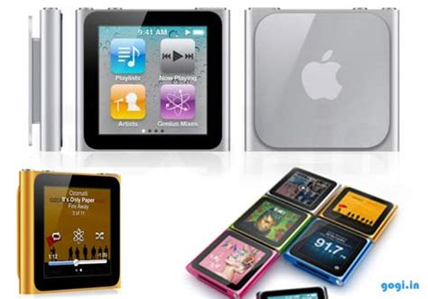 Ipod Nano Multi Touch pictures and prices of the mini and nano ipods