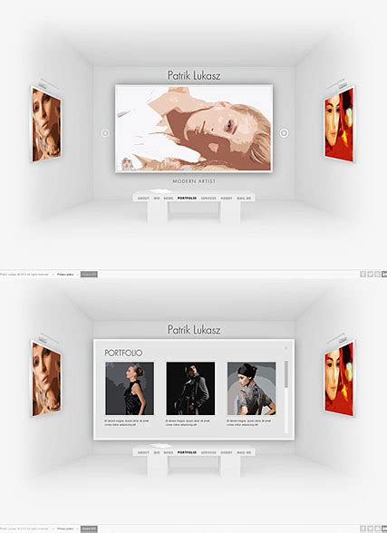 Html5 Artist artist exhibition html5 template id 300111617 from