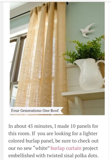 how to make no sew burlap curtains how to make quot no sew quot burlap curtains trusper