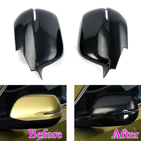 honda crv cr    side wing rearview mirror cover trim exterior anti collision decor