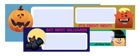 printable halloween address labels free halloween address labels fillable pdf printables