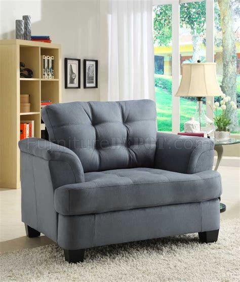 blue grey couch st charles 9736 sofa homelegance blue grey fabric w