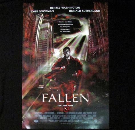 fallen washington film fallen original one sheet movie poster 1998 denzel