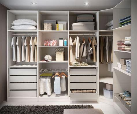 contemporary closet with built in bookshelf shag area rug